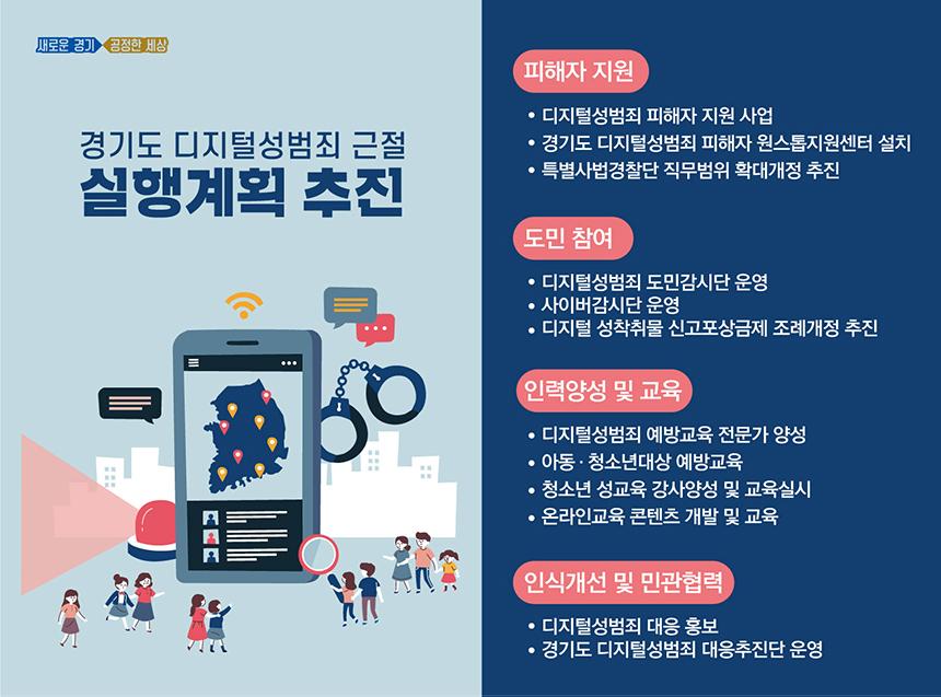 경기도 디지털성범죄 근절 실행계획 추진